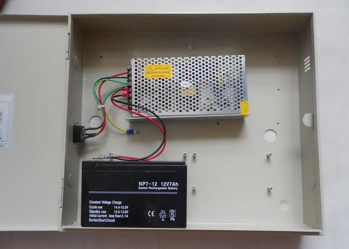 12VDC10A1P/B: 12VDC 10Amp 1 Channel Power Store with Battery Back-up