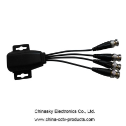 4 CH Passive CCTV Video Balun Video Receiver VB704