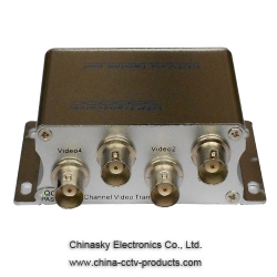 4 Channel Passive CCTV UTP Video Balun Video Transceiver VB104