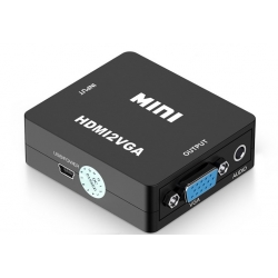HDMI to VGA RCA video Converter