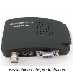 BNC to VGA Video Converter for CCTV Security System (BTV100)   Specifications: BNC/CVBS to VGA Conve