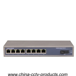 1 Port Sc + 8 Port RJ45 Full Enhanced Gigabit Switch