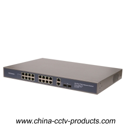 16FE POE + 2GE + 2SFP Network POE Switch (POE1622SFP-2)