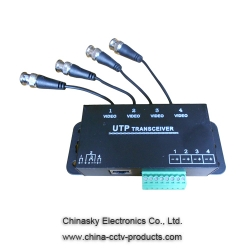 4 Channel Passive UTP CCTV Video Balun Video Transceiver VB140A