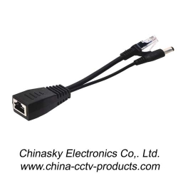 Passive POE Cable with POE Splitter and POE Injector (PD09)