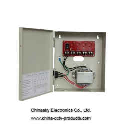 24V AC 2.5A Power Distribution Box for 4 CCTV 24VAC2.5A4P