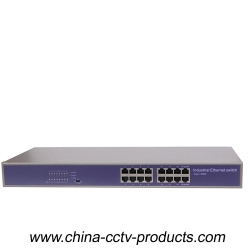 16 Port Enhanced & Full Gigabit Switch with Built in Power