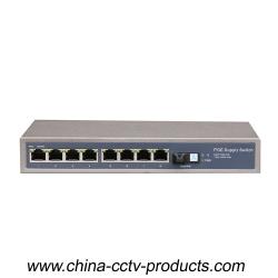 8 Port PoE 1 Port SC FE POE Switch(POE0801SC)