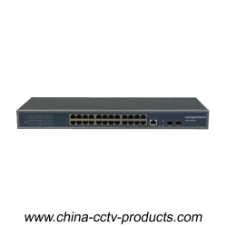 1U 27 ports 1000Mbps Layer 2 Managed Ethernet Switch (SW2402M)