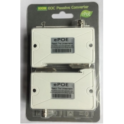 1CH Single POE Video Extender over Coaxial Cable