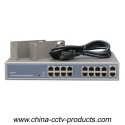 CCTV 16FE POE 2GE SFP 18 Port POE Switch with Build-in Power (POE1620H-2)