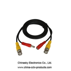 Pre-made Siamese CCTV Cable/10ft