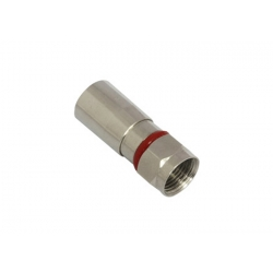 Water-proof F Male Compression Connector for RG59 Cable / CCTV Connector CT5083/RG59