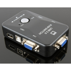2,4 in 1 out KVM Manual VGA Switch