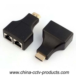 30M HDMI Converter For 1080p Via Cat5e/6 Cable(HDMI30M)