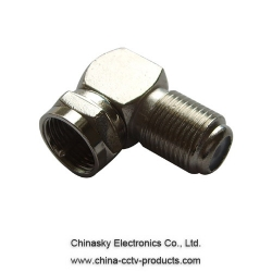 F Female to F Male Right Angle Connector
