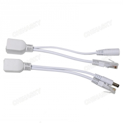 Passive POE Cable with PoE Splitter and PoE Injector (POE30M)