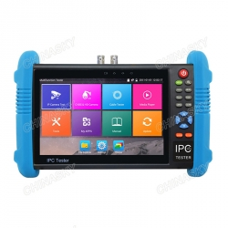 Multifunction 7 inch touch screen IP camera tester , with Video display for IP camera