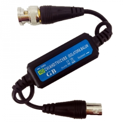HD Video Ground Loop Isolator for Coaxial Cable (GB106)