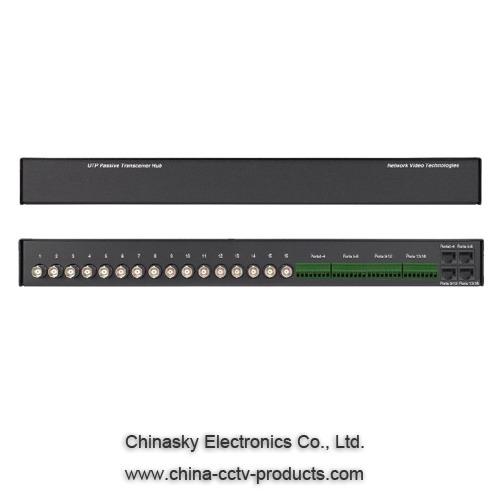 16ch Passive UTP CCTV Video Balun VB316