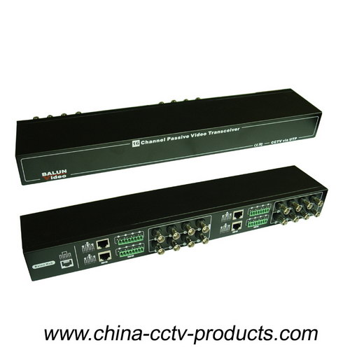 16CH Passive CCTV Video Balun for HD-Ahd/Cvi/Tvi with CE RoHS (VB216SH)