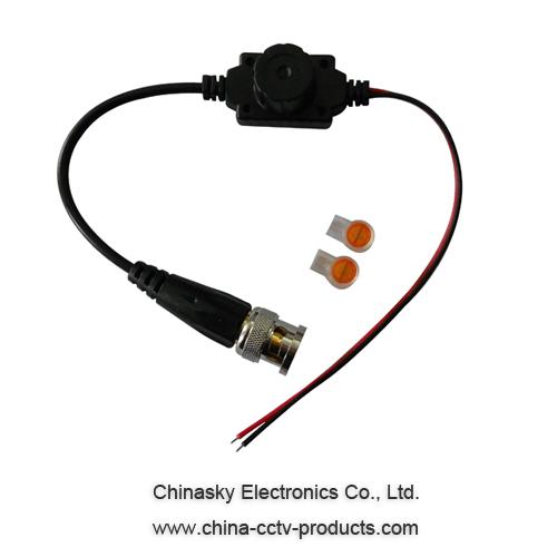 1 CH Passive Video Balun , Waterproof CCTV UTP Video Balun , CVI/AHD balun