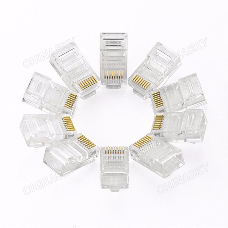 Cat5e UTP Cable 8p-8c RJ45 Connector (RJ45(5E))