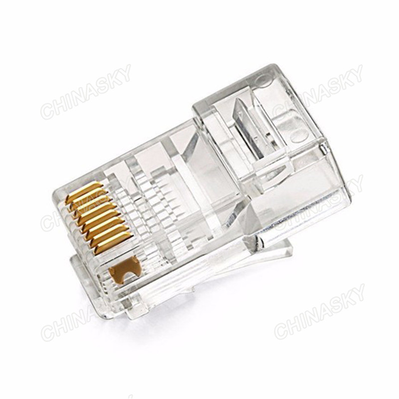 CAT6e UTP Cable 8P-8C RJ45 Connector (RJ45(6E))