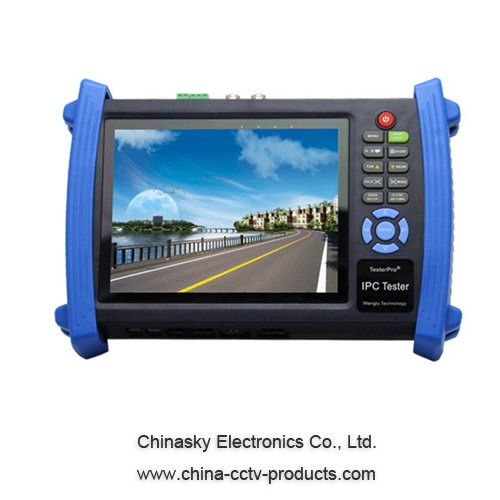 Functional CCTV HD IP/Tvi/Ahd/Sdi/Cvi Camera Tester (IPCT8600)