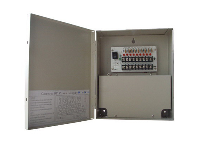 12VDC 5Amp 9 Channel Premium CCTV Power Supply Unit 12VDC5A9PN