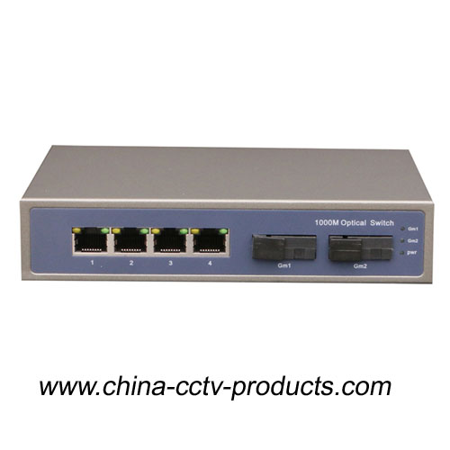 6 Port Enhanced CCTV Poe Switch (POE0402SC-3)