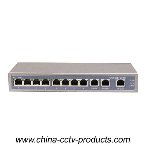 CCTV 8POE 3FE 11Ports POE Switch (POE0830)