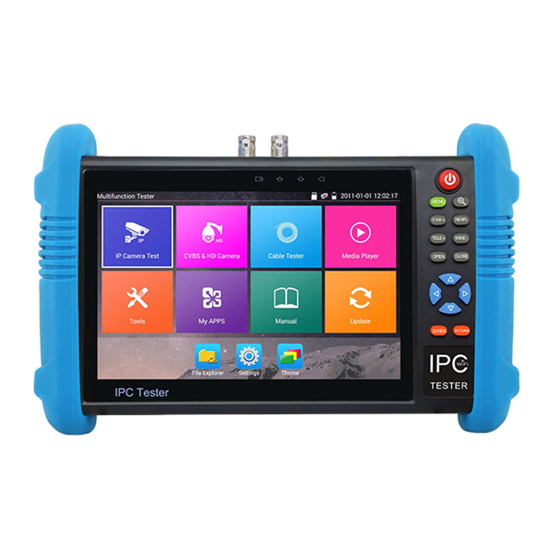 7 inch IPS 4K Touch Screen IP CCTV tester with Android System (IPCT9800 Plus)
