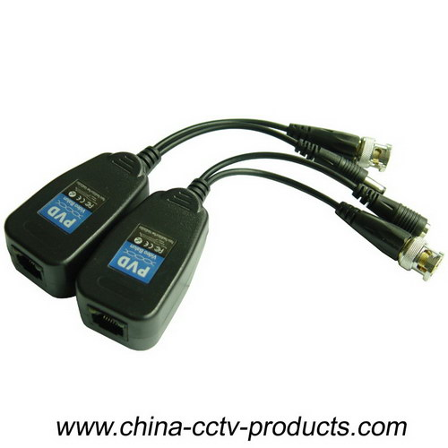 HD-Cvi/Tvi/Ahd CCTV UTP Passive Power & Video Balun with CE RoHS (PV22H)