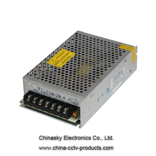 12Volt DC 10A CCTV Switching Power Supply ,CE IEC Switching Power Supply