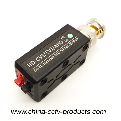 HD-CVI/TVI/AHD Passive Video Balun, HD Combinable video balun