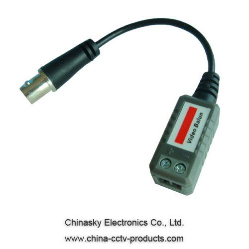 Single Channel Passive CCTV UTP Video Balun, CVI/AHD balun
