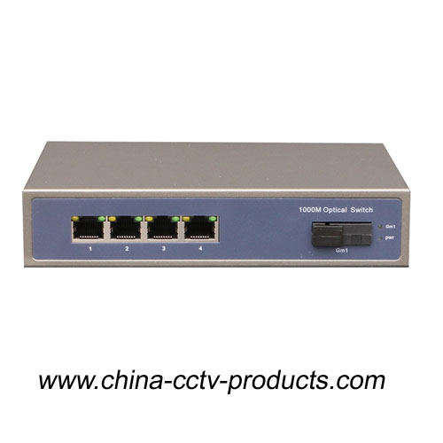 4 Port Poe + 1 Port Sc Enhanced CCTV Poe Switch (POE0401SC-3)