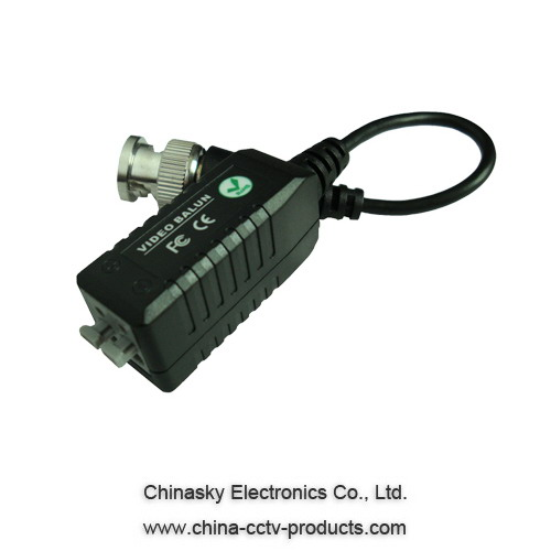 1CH Twisted Pair Passive Video Balun , UTP balun , CCTV Balun, CVI/AHD balun