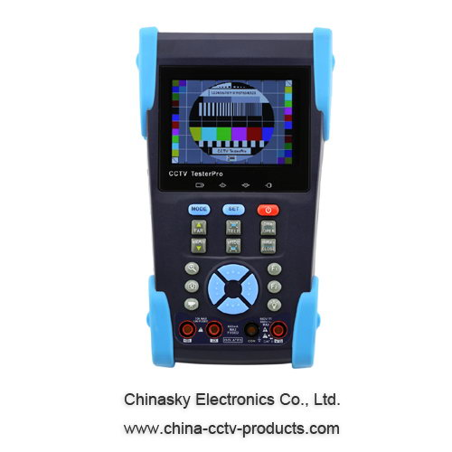 CCTV Tester With IP Address Search And Wire Tracking Multi-function , Digital Multimeter