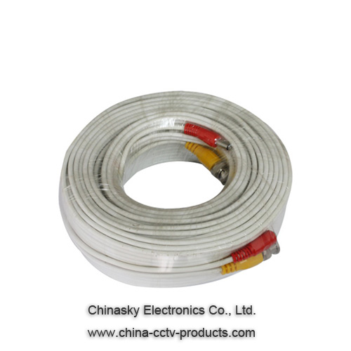 Pre-made Siamese CCTV Cable/50ft