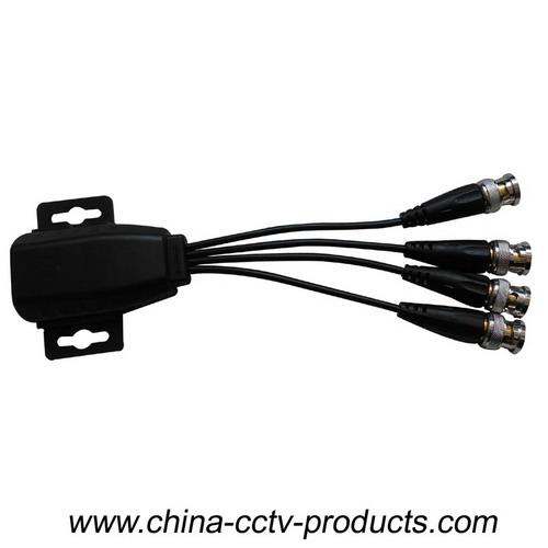 4CH Connectable 8MP CCTV UTP Video Balun for HD-AHD/CVI/TVI (VB704H)