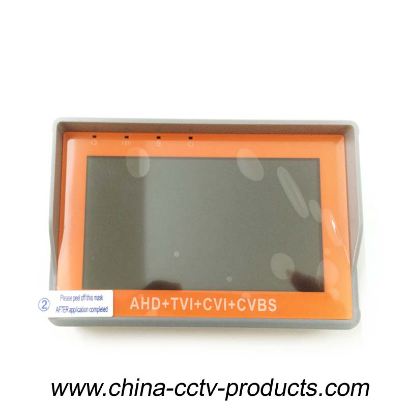 AHD, TVI, CVI and CVBS Camera Tester for Security Systems(CT600HDA)