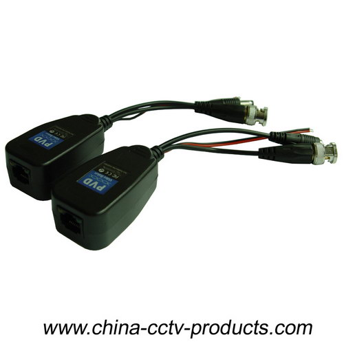 8MP HD-Cvi/Tvi/Ahd CCTV Passive Power Video & Data Balun (PVD22H)