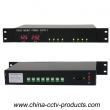 24V AC CCTV Rack Mount Power Supply with 8 Channels (24VAC10A8P-1.2U)