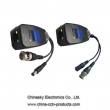 Cat5 CCTV Balun Video Power Balun ,RG45 Video Power Balun with LED Light