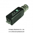 Single Channel Screwless Passive Video Balun , CCTV UTP Video Balun with Surge protection , CVI/AHD