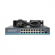 19 Ports 10/100Mbps Network PoE Switch (Built-in Power) (POE1621H-2)