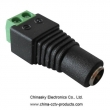 CCTV Camera Power Connector- Female Plug with Terminal Block