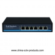 4POE + 2RJ45 Uplink POE Power Network Switch (POE0420BN)